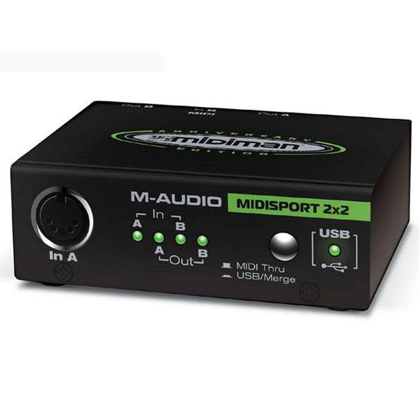 MAudio USB Midisport 2x2 2in/2out USB MIDI interface