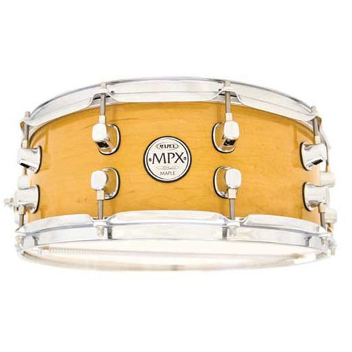 "Mapex 13""x6"" Maple Snare Drum with Chrome Fitting - Gloss Nat MPML3600CNL"