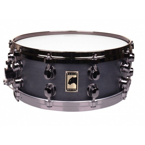 "Mapex Black Panther 14"" x 5.5"" Gloss Black BPML4550B Maple Snare Drum"