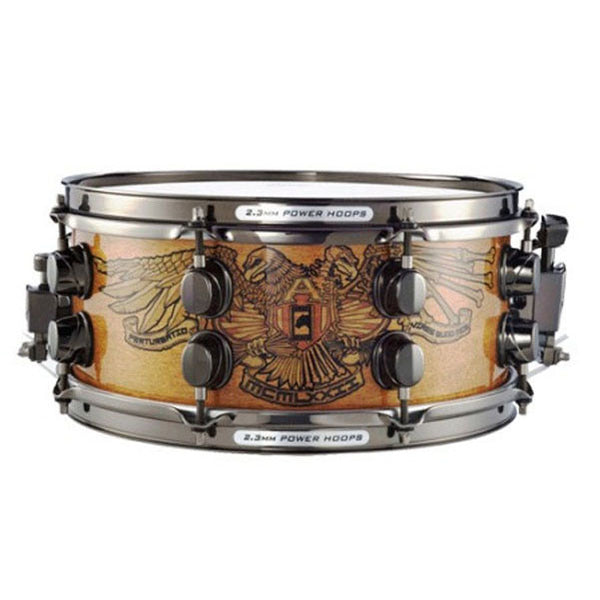 Mapex Chris Adler Model BPWM2550BCANO Black Panther Snare Drum