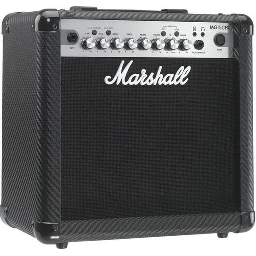Marshall MG Series MG15CFX Guitar Combo Amp Carbon Fiber