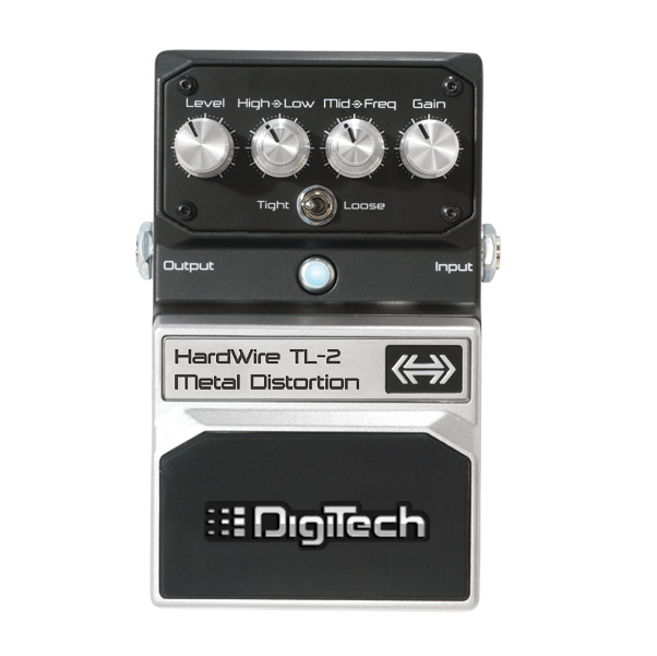DigiTech HardWire Series TL-2 Metal Distortion Guitar pedal