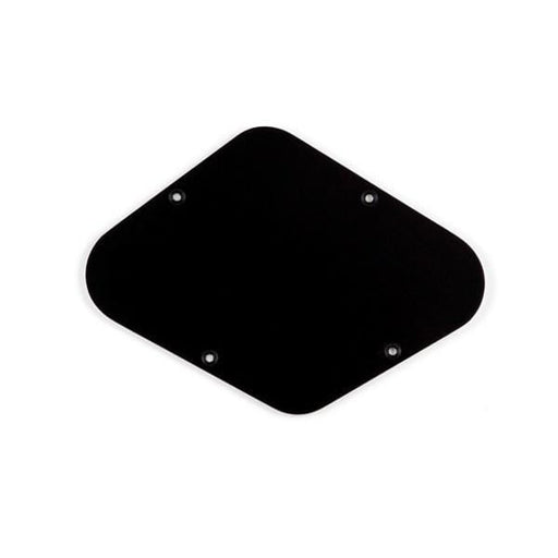 Mighty Mite MM5502 Les Paul Style Replacement Back Plate - Solid Black