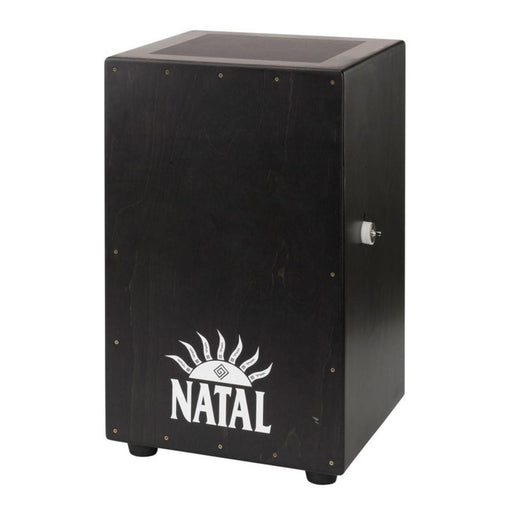Natal Large Black Cajon, Black Panel, White Logo