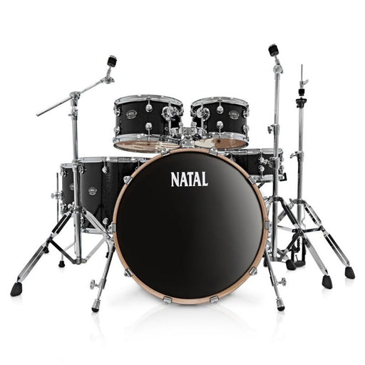 Natal KAR-F20 Arcadia Series Fusion 20 5-Piece Shell Pack Acoustic Drum Kit with Hardware & Stands