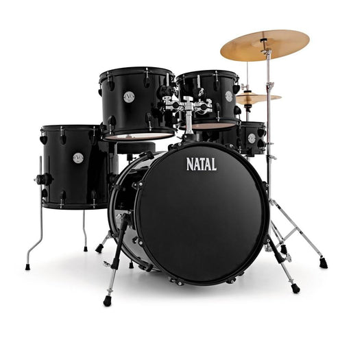 Natal K-EVB-F20 Evolution Fusion 5-Piece Acoustic Drum Kit with Hardware & Cymbals