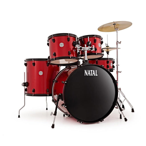 Natal K-EVB-UF22 Evolution 5-Piece Shell Pack Acoustic Drum Kit with Hardware & Cymbals