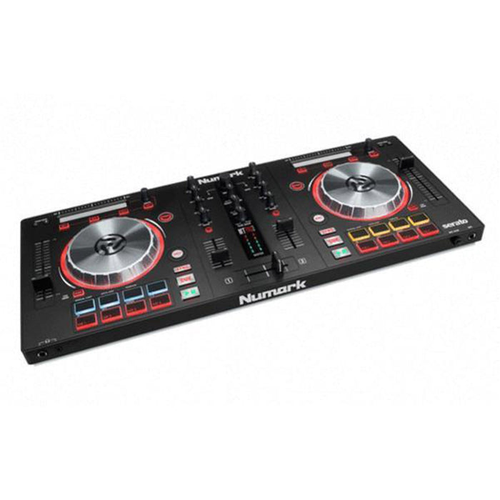 Numark Mixtrack Pro 3 All-In-One DJ Controller for Serato DJ with Headphones