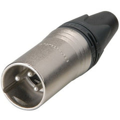 Neutrik NC3MXX Male XLR Connector Nickel