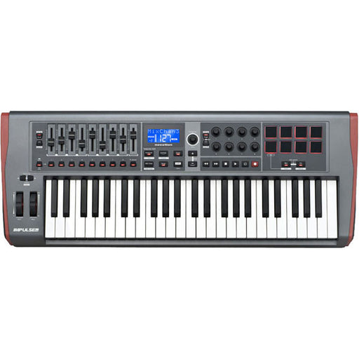 Novation Impulse 49 USB Midi Controller Keyboard - 49 Keys