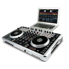 Numark N4 4-Deck DJ Controller with Mixer