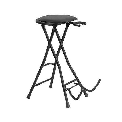 On-Stage DT7500 Guitarist Stool With Foot Rest - Black
