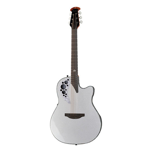 Ovation Melissa Etheridge 2078ME-6P Cutaway Electro Acoustic Guitar - Pearl White