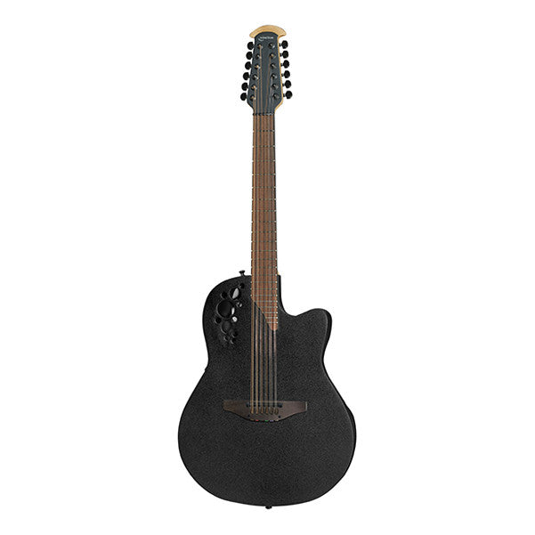 Ovation 2078TX-5 Cutaway Electro Acoustic Guitar - Black