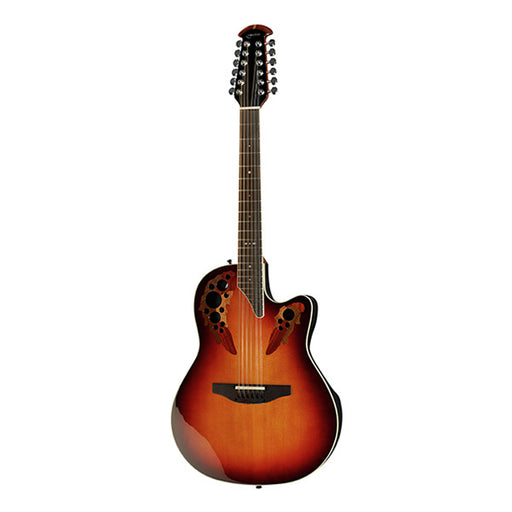 Ovation 2758AX Cutaway Electro Acoustic Guitar - New England Burst