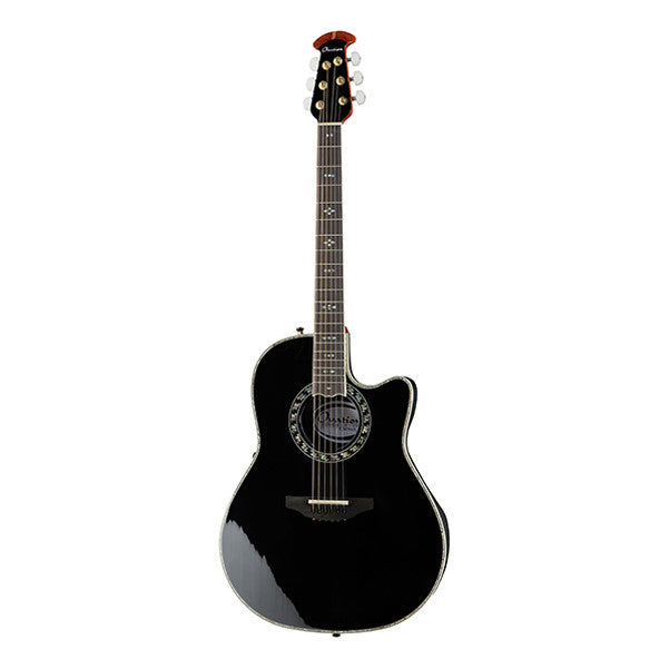 Ovation C2079AX-5 Custom Legend Plus Cutaway Electro Acoustic Guitar - Black