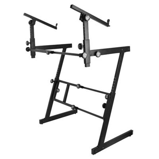 OnStage KS7365EJ Folding Z-Style Keyboard Stand with 2nd Tier