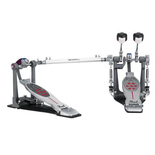 Pearl P-2052B Belt Drive Eliminator Redline Double Pedal - Open Box