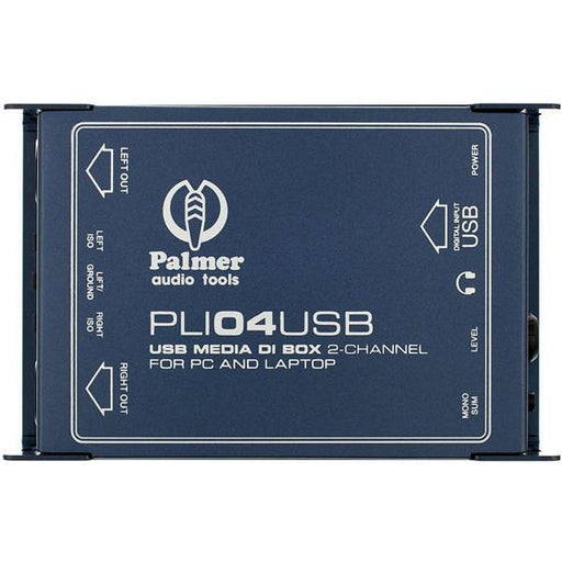 Palmer Audio Tools PLI 04 USB 2-Channel USB DI Box