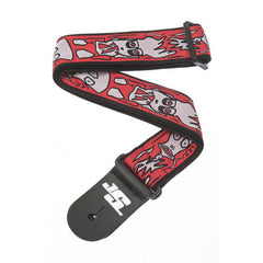 Planet Waves 50JS02 JOE SATRIANI Woven Strap Collection - Up in Flames