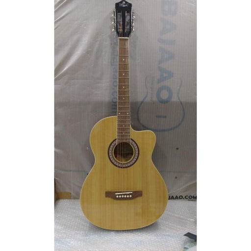 Pluto HW39C-201P Electro Acoustic Guitar - Rosewood Fretboard - Natural - Open Box B Stock