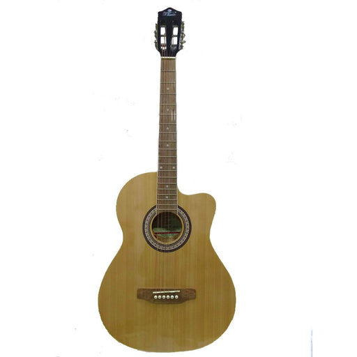 Pluto HW39C-201P Electro Acoustic Guitar - Rosewood Fretboard-Natural