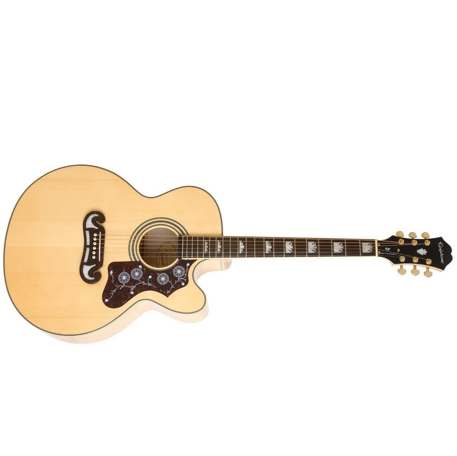 buy epiphone ej 200ce acoustic electric guitar natural eej2nagh1 online bajaao. Black Bedroom Furniture Sets. Home Design Ideas