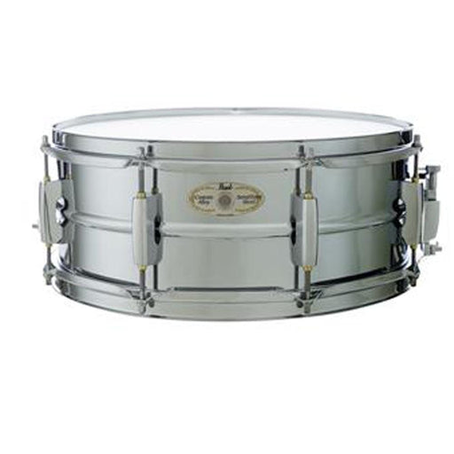 "Pearl LMSS1455 14""x5.5"" Sensitone Limited Chrome Steel Snare Drum"