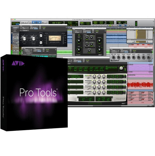 Avid Pro Tools 12 Recording Software - For Student/Teacher