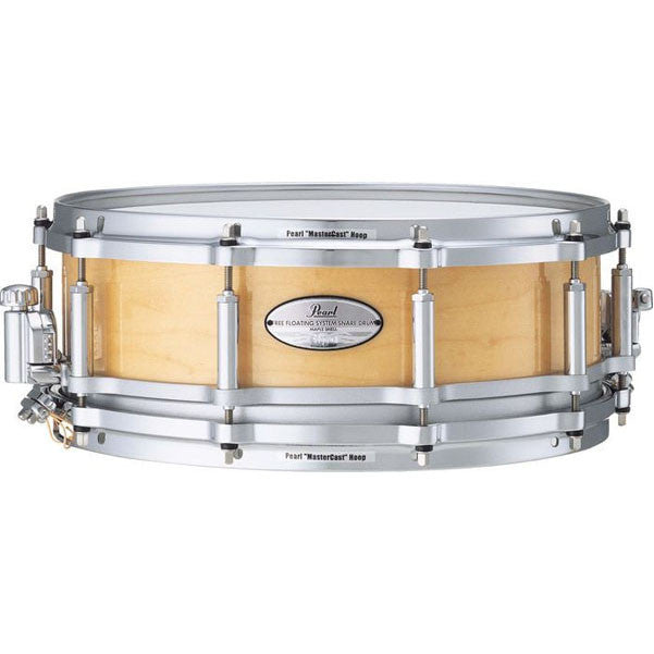 "Pearl Free Floating Maple Shell Snare 14""x 5"""