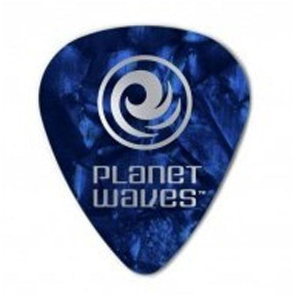 Planet Waves 1CBUP6 Blue Pearl Heavy Guitar Pick (Pack of 10)