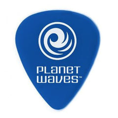 Planet Waves 1DBU5 Duralin Medium/Heavy Blue Guitar Picks - 10 picks