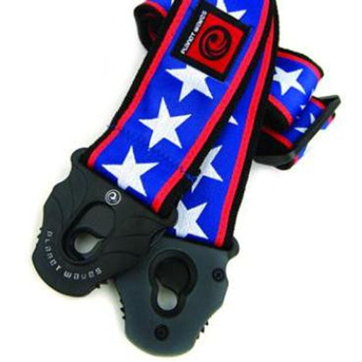 Planet Waves 50mm 50PLA10 Stars Stripes Lock Guitar Strap