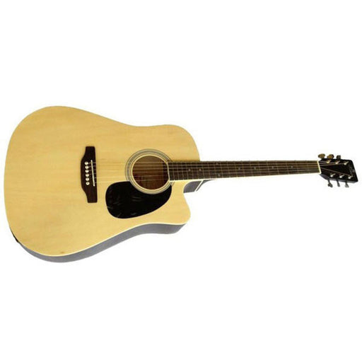 Amaze AW41CE-101SP Electro-Acoustic Guitar - Natural