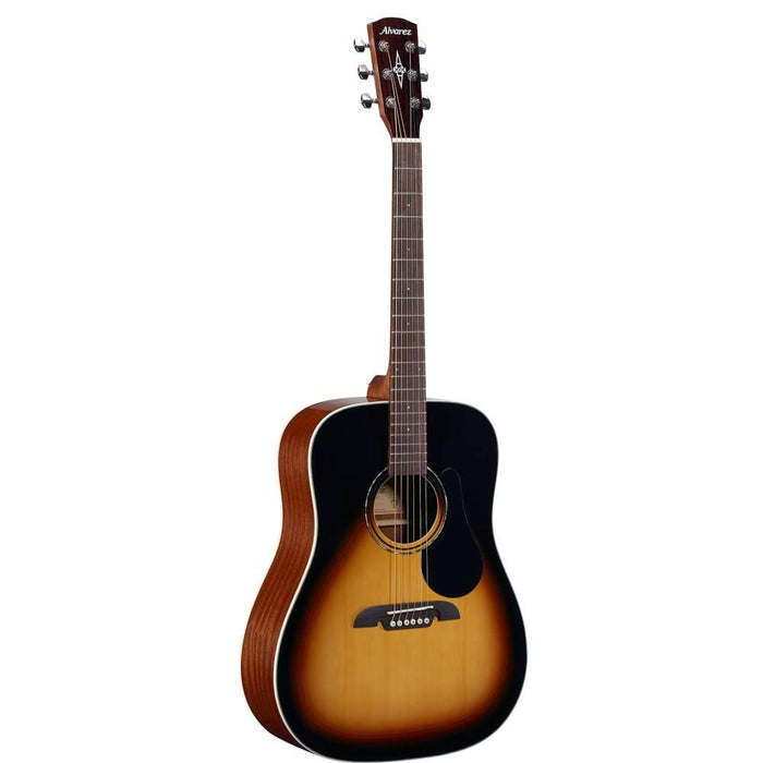 Alvarez RD26 Regent Series Dreadnought 6-String Acoustic Guitar - Techwood Fretboard - Sunburst