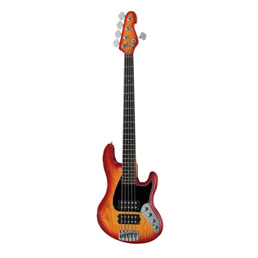 Sandberg California II TM2 5 String Bass Guitar - Cherry Sunburst