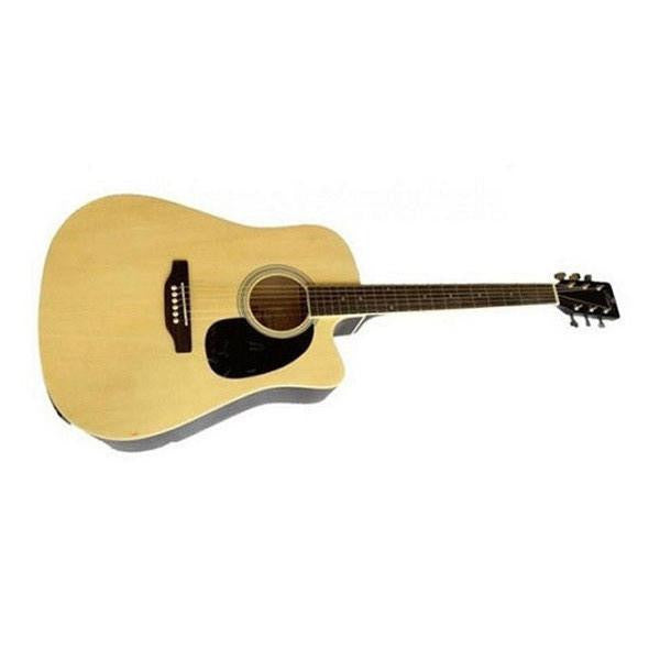 Pluto HW39C-201 Medium Cutaway Acoustic Guitar - Open Box