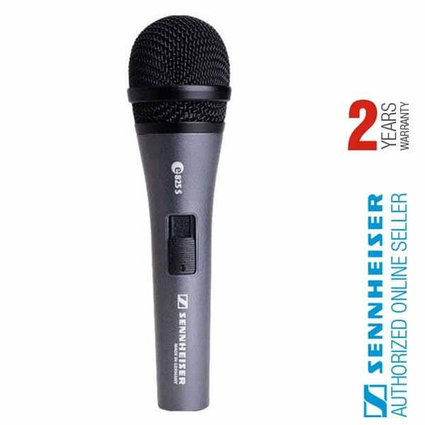 Sennheiser E825S Cardioid Handheld Dynamic Vocal Microphone W/ Switch