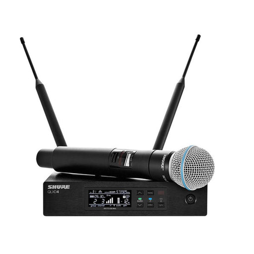 Shure QLXD24-B58 Handheld Wireless Microphone Systems