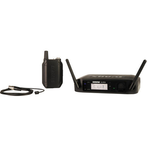Shure GLXD14/WL93 Lavalier Wireless System (Z2 Band: 2400 - 2483.5 MHz)