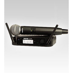Shure GLXD24WSM58 Handheld Wireless System