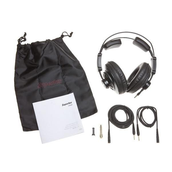 Superlux HD668B Semi-C Pro Studio Headphones