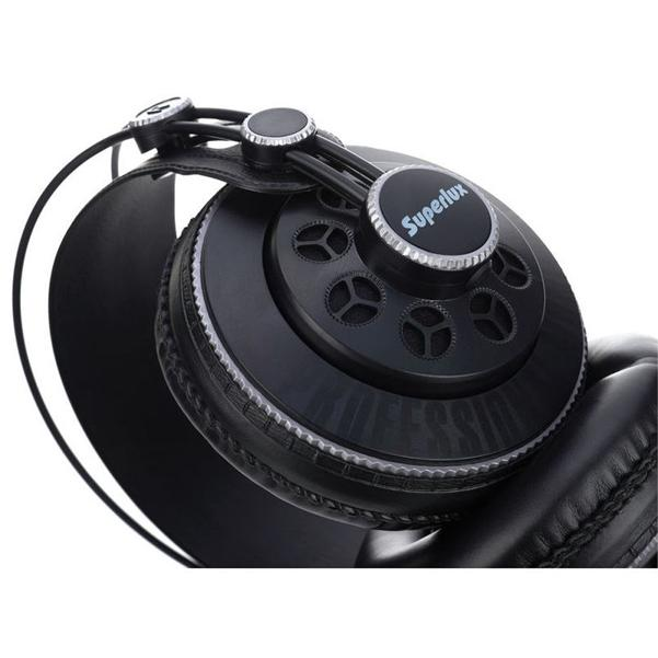 Superlux HD681B Semi-C Professional Monitoring Headphones