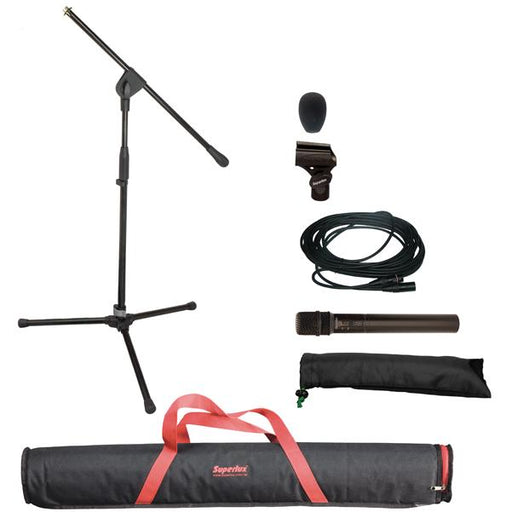 Superlux MSK124X Condenser Vocal/Instrument Microphone Set