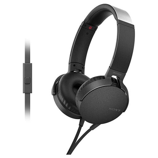 Sony MDR-XB550AP Extra Bass On-Ear Wired Headphones