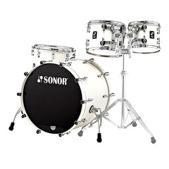 Sonor 12 ProLite Stage 3 Acoustic Drum Shell Set - Creme White