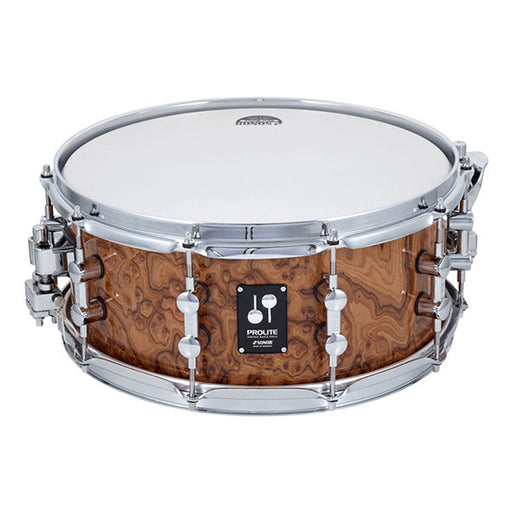 Sonor 14 x 06 inch ProLite Snare Drum - Chocolate Burl