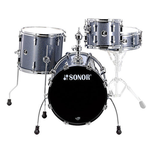 Sonor Safari Acoustic Drum Shell Set - Black Galaxy Sparkle