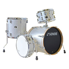 Sonor Bop Acoustic Drum Shell Set - Silver Galaxy Sparkle