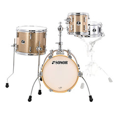 Sonor SSE 13 Martini Special Edition Acoustic Drum Shell Set - Gold Galaxy Sparkle